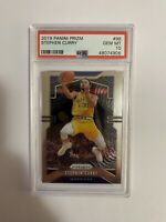 Stephen Curry PSA 10 2019 Panini Prizm Base Golden State Warriors Gem Mint