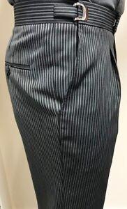 Grey Stripe Trousers Masonic/Chauffer/Funeral/Ascot/Weddings/Formalwear