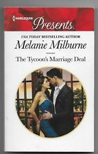 The Tycoon's Marriage Deal by Melanie Milburne (2017, Paperback)