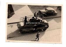 (s21) Vorm. SDkfz Tank Panzerspähwagen Kennung Emblem Panzersoldat PKW Kübel