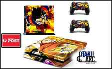 PS4 Skin - Dragonball Z Gohan DBZ - Playstation 4 Console+2 Controllers Skin set