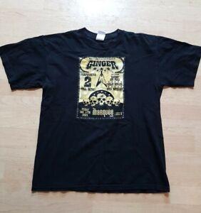 Vintage Ginger wildheart Tshirt Size Medium Marquee 2004