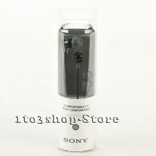 Sony Headphones MDREX15LP Fashion Color EX Series In Ear Buds Earbuds Black