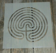Árbol laberinto de Mylar plantilla ideal para la decoración de pintura de Aerosol de ciclismo