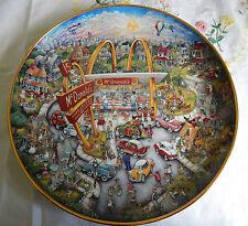 Golden Moments Plate Bill Bell Coa (McDonald'S)