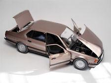 BMW E 32 / 750iL in hell braun brun light brown metallic, Schabak in 1:24 boxed!