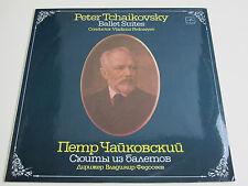 Peter Tchaikovsky Ballet Suites Vladimir Fedoseyev LP
