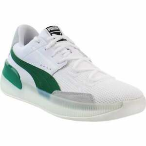 Puma Clyde Hardwood   Mens Basketball Sneakers Shoes Casual   - White