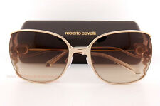 Brand New Roberto Cavalli Sunglasses RC 1012/S 28G Gold/Brown Gradient For Women