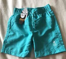 BNWT Primark Boys Turquoise Swim Shorts. Age 1 1/2-2 Years