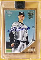 ANDY PETTITTE 1/1 2017 Topps Archives Signature Series True #1 of 1 on card auto