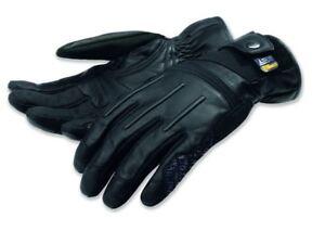 Scrambler Street Master C2 Leather Gloves Black