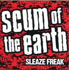 Scum Of The Earth Sleaze Freak RARE promo sticker '07