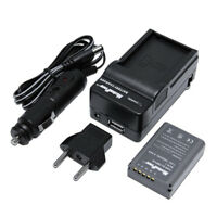 TWO BATTERIES + CHARGER OLYMPUS BLN-1 OM-D E-M5 PEN E-P5 HLD-6 Camera Battery X2