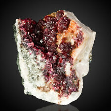 """1.7"""" Sparkling Deep Magenta Red WENDWILSONITE Crystals to 2mm Morocco for sale"""