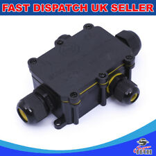4 Way 24A 450V IP68 Waterproof Electrical Cable Wire Connector Junction Box UK