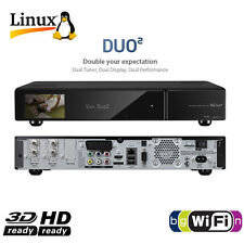 ►VU+ DUO² 2xDVB-C  / T Twin Full HD Hybrid Kabel Receiver USB PVR VU Plus DUO2