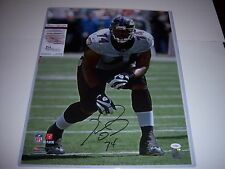 MICHAEL OHER BALTIMORE RAVENS,OLE MISS THE BLIND SIDE JSA/COA SIGNED 16X20 PHOTO