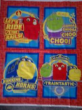 Brand New Chuggington Cot Quilt Panel