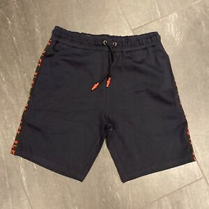 Men's 883 Police shorts In Black & Red Size UK Extra Large