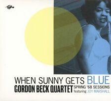 Gordon Beck Quartet feat Joy Marshall - When Sunny Gets Blue (2018)  CD  NEW