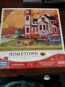 Heronim Wysocki Sunset Visit Hometown Collection 1000 Piece Jigsaw Complete