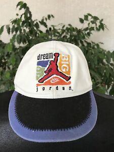 Nike Vintage 90's Cap Baby Air Jordan Rare Big Dream Taiwan 6-12 month