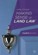 Making Sense of Land Law by April Stroud (2013, Paperback, Revised)