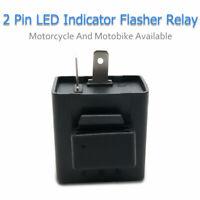 1pcs Moto DC 12V 2 Broches Relais Centrale électronique LED Clignotant Flasher