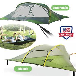 Outdoor Suspended Tree Tent Ultralight Hanging Camping Hammock Waterproof