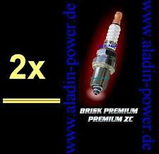 2x BRISK Racing Tuning Zündkerzen BR12ZC