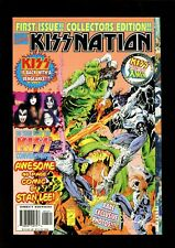 KISS NATION 1 (9.4) VS X-MEN STAN LEE GENE PAUL MARVEL (b015)