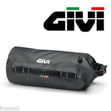 Sac rond GIVI GRT702 sacoche selle étanche cargo cylindre moto Gravel-T trekking