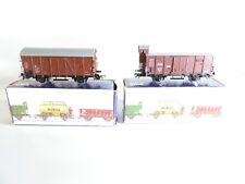 Piko H0 gedeckter Güterwagen Set DR 5/6446-010 / Güterwagen mit Bremserhaus B3
