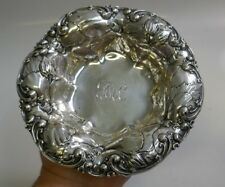 Vintage Whiting Mfg. Co. Sterling Silver Bowl With Repousse Design