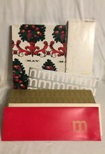 VTG 60s-70s May Co Ohio Dept Store Christmas Gift Box Higbees Cleveland