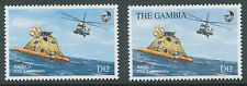 GAMBIA 1990 20th anniversary first manned moon landing 12 D MISSING COUNTRY NAME