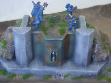 warhammer 40k ,etc terrain scenery bunker / concrete fortification, etc