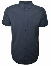 Diesel Collared Short Sleeve Striped Men's Casual Shirts & Tops