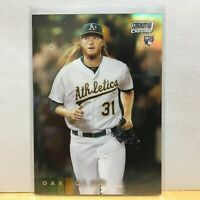 2020 Topps Stadium Club Chrome A.J. PUK RC Refractor Parallel #240 Oakland A's