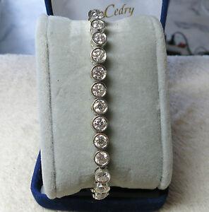 Bracelet Rivière IMPORTANTS DIAMANTS / diamond river bracelet