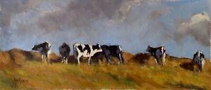 'WINTER SUN' Original Oil Painting by Award Winning Artist ROS PSAKIS