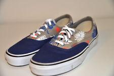 Nuevo VANS 2 Tonos Azul Gris bajos de lona Tenis Zapatos Tenis DEPORTIVOS ATLÉTICOS INFORMALES 6.5