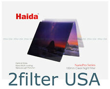 Haida NanoPro 100mm Clear Night Filter Multicoated Reduces Light Pollution 4x4