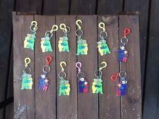 A Voir!!! lot 12 Porte Clef. Collector Télétubies Annees 2000 Port Offert