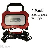 *SET OF 4*Snap On Portable Work Light *2000 LUMENS* 46 LED 25watts In/Outdoor