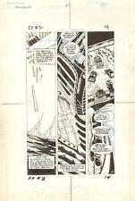 Flash Force 2000 #2 p.14 - Battle Van - Matchbox Car 1983 art by Sal Trapani Comic Art