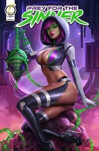 Prey For The Sinner #2 Looks Can Kill NICE Kickstarter Variant by Sun Khamunaki