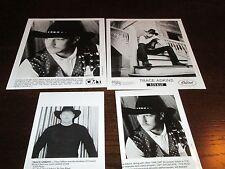 Rare Trace Adkins Publicity Press Kit B&W Media 4 Photos Stills Rock Concert