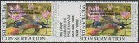 Australia Cinderella Ducks 1992 $10 Shoveler OVERPRINT pair MNH